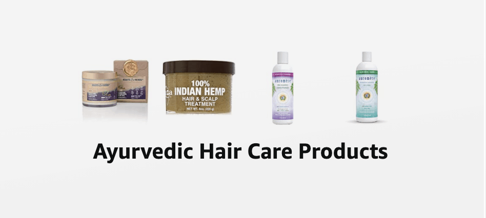 Ayurvedic hair care products